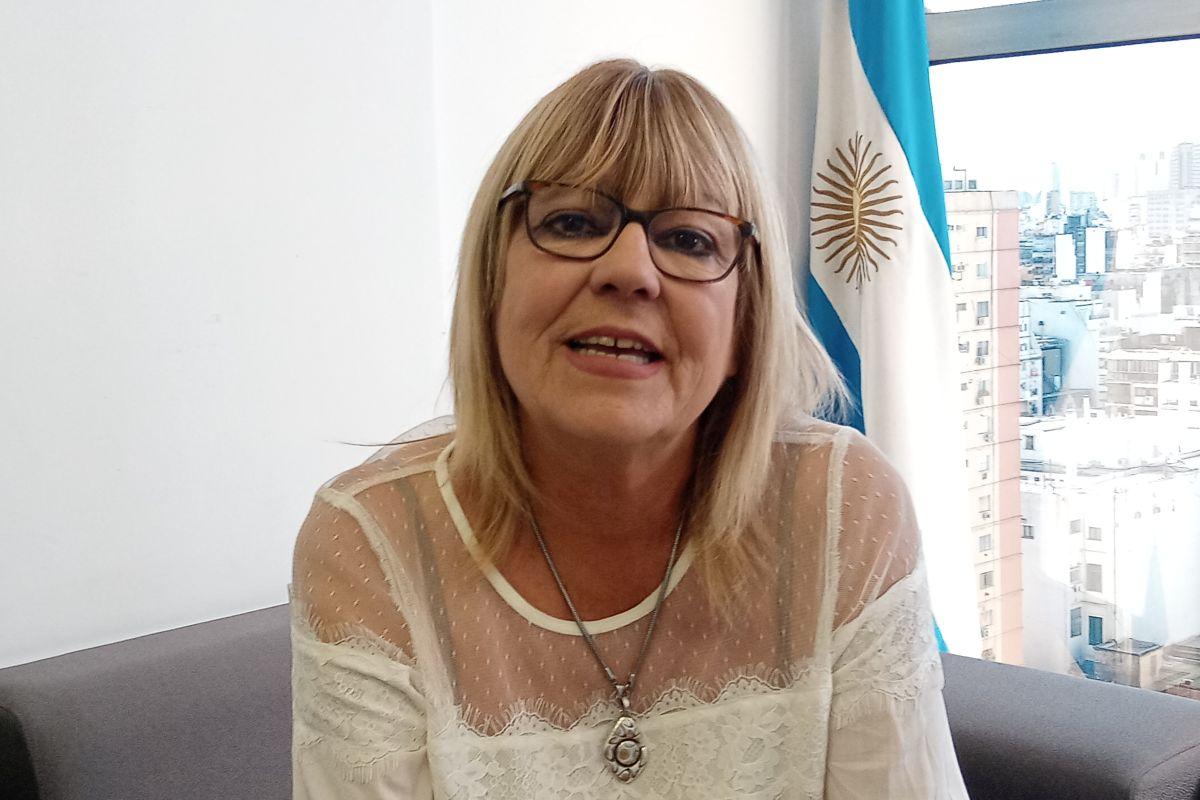 """Estela Hernández sobre el diferencial patagónico en Ganancias: """"El incremento de las deducciones del 22 por ciento no se tocaron, nunca estuvo en el proyecto"""""""