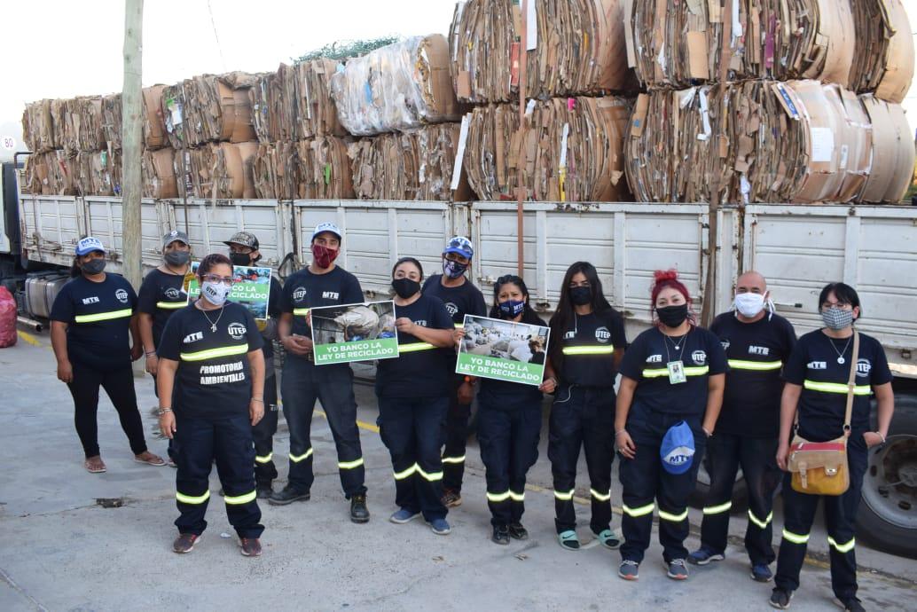 Centro de Reciclado: Se vendieron las primeras 50 toneladas de material recuperado