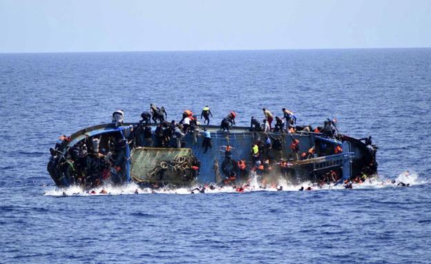 Más de 40 personas murieron en un nuevo naufragio en el Mediterráneo