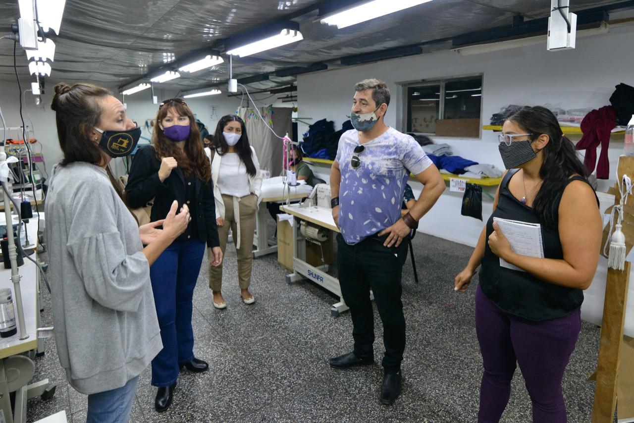 Buscan ampliar la capacidad productiva del Polo Textil Trelew con una proyección entre 40 y 50 puestos de empleo