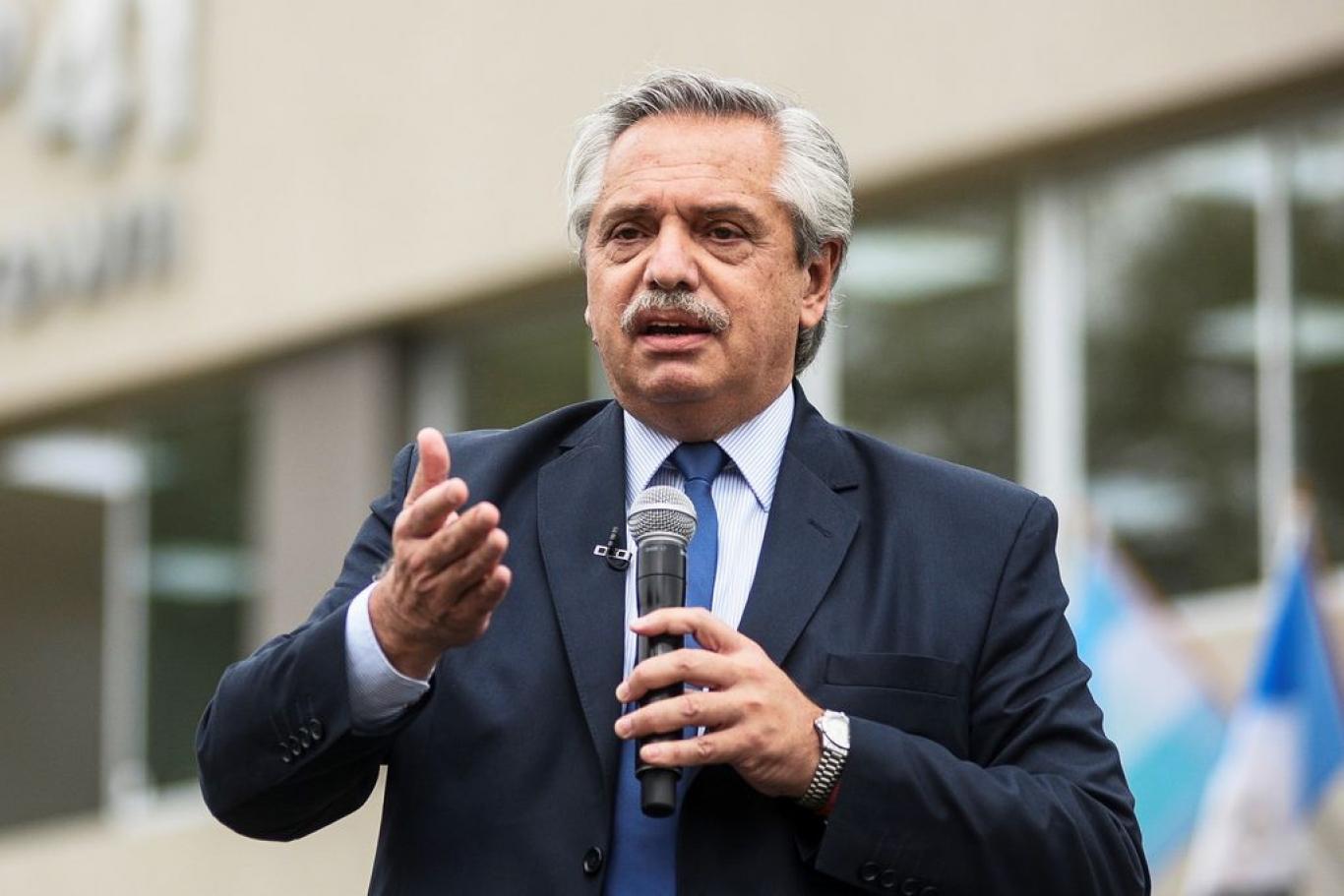 """Alberto Fernández sobre la promulgación de la ley de Impuesto a las Ganancias: """"Estamos resolviendo el poder adquisitivo de más de un millón de trabajadores"""""""