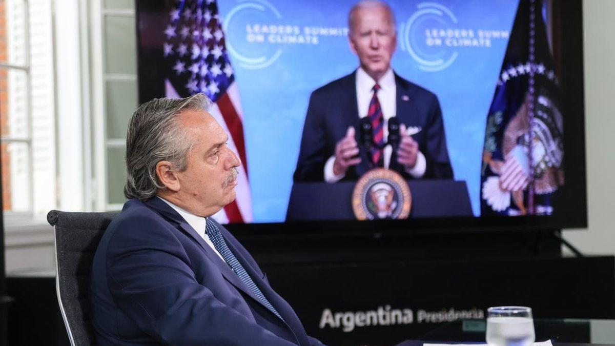 """Alberto Fernández insistió ante líderes mundiales un """"canje de deuda por acción climática"""""""