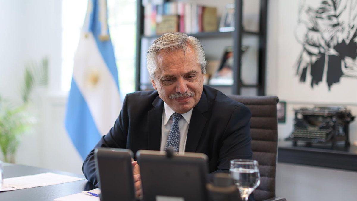 Alberto Fernández disertará hoy en la Cumbre de Cambio Climático a la que fue invitado por Joe Biden