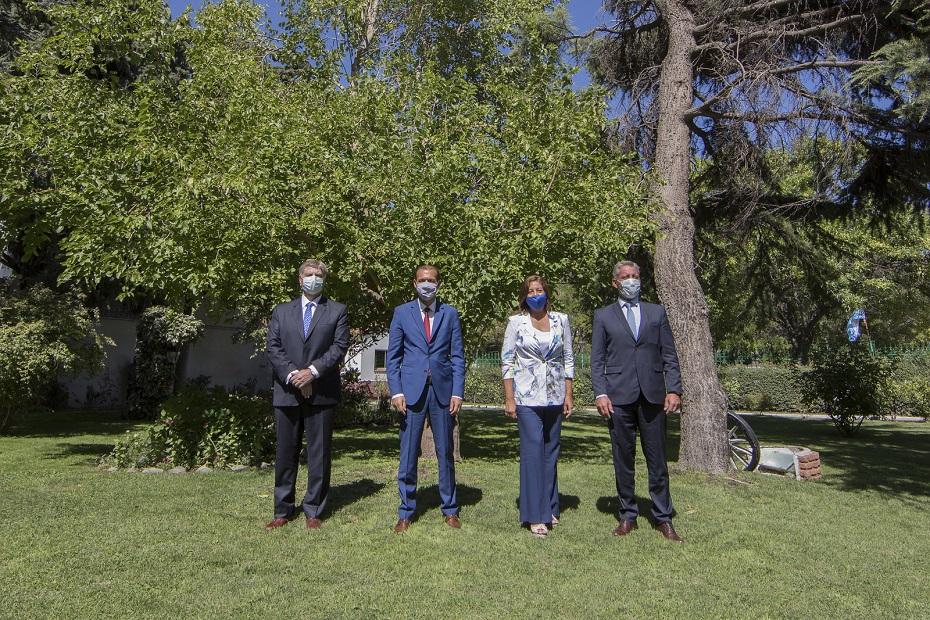 La liga de gobernadores patagónicos respaldó a Omar Gutiérrez por el conflicto con estatales que atraviesa Neuquén