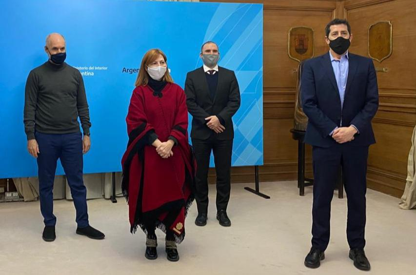 Guzmán y de Pedro invitaron a Larreta a la instancia de diálogo que fija la ley por los recursos de la Policía