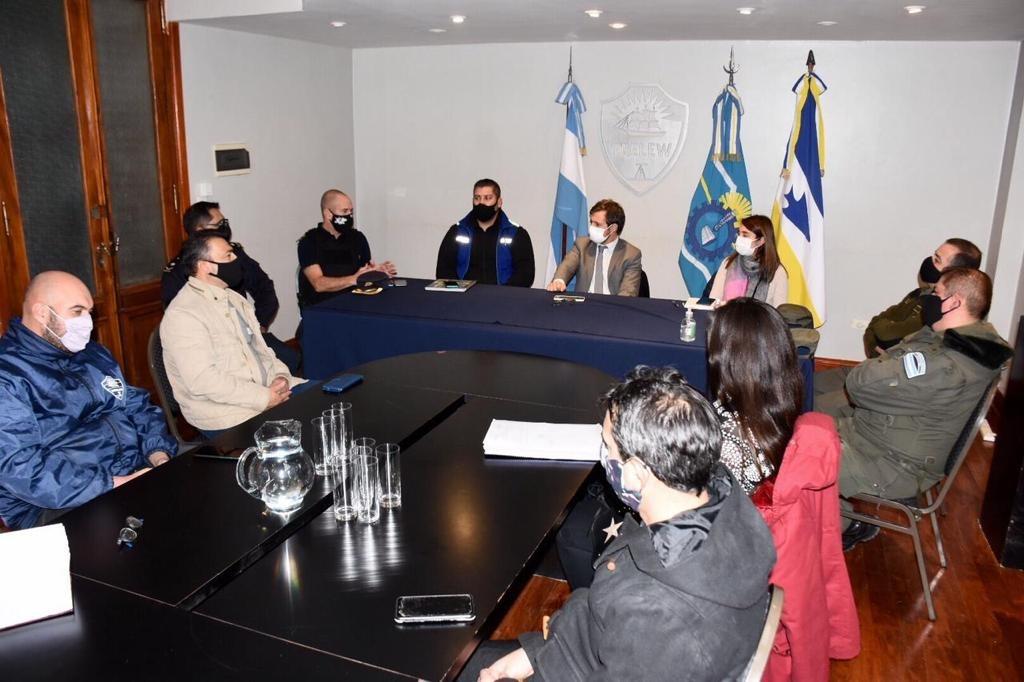 La Policía del Chubut y Fuerzas Federales controlarán durante el fin de semana en Trelew la circulación fuera de horario y la realización de fiestas clandestinas