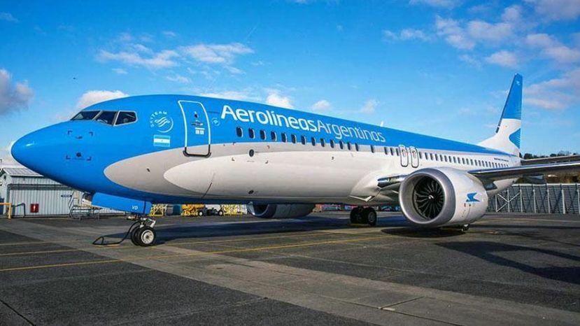 Aerolíneas Argentinas retoma los vuelos a Puerto Madryn este jueves