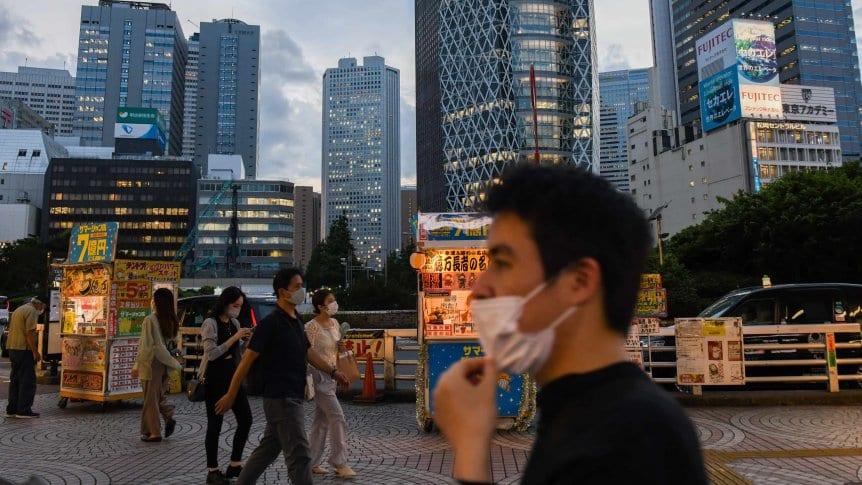 Tokio extendió el estado de emergencia sanitaria por el aumento de casos de Covid-19
