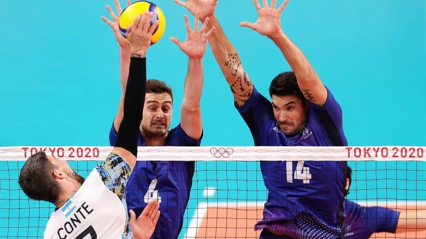 La Selección Argentina de vóley cayó ante Francia e irá por la medalla de bronce en Tokio 2020