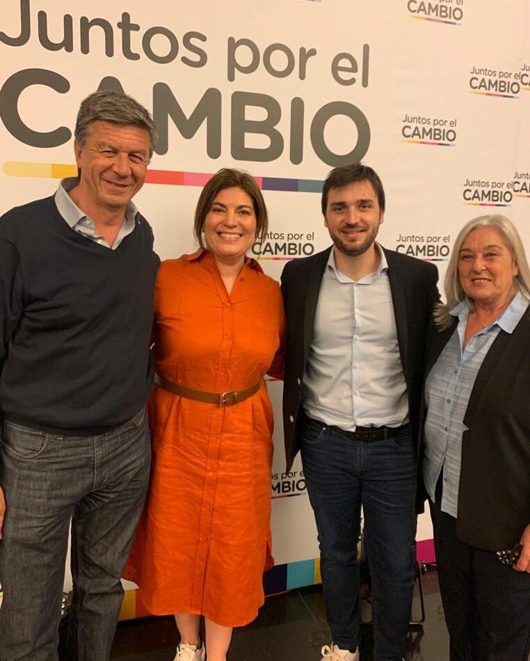 Torres, Romero, Terenzi y Menna se reunieron con los máximos referentes de Juntos por el Cambio