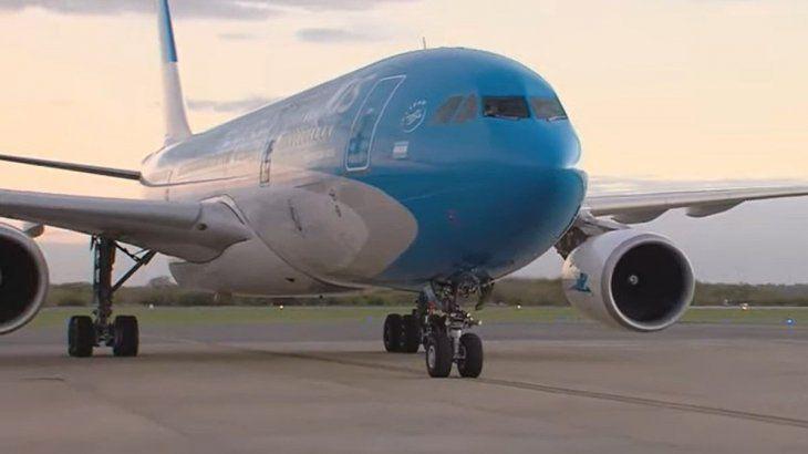 Aerolíneas Argentina retoma vuelos a Santiago de Chile