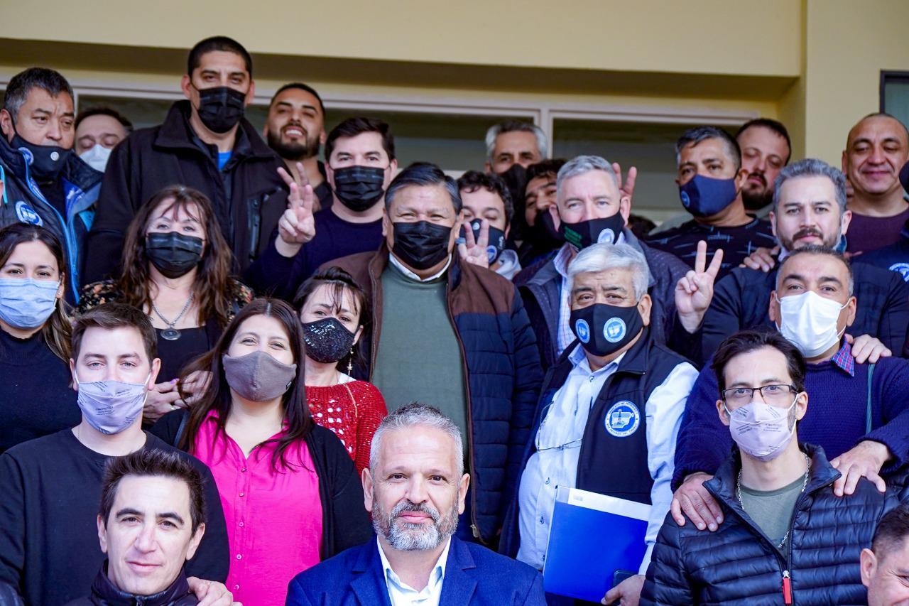 Ávila presentó la lista para buscar la reelección en el Sindicato del Petróleo y Gas Privado del Chubut