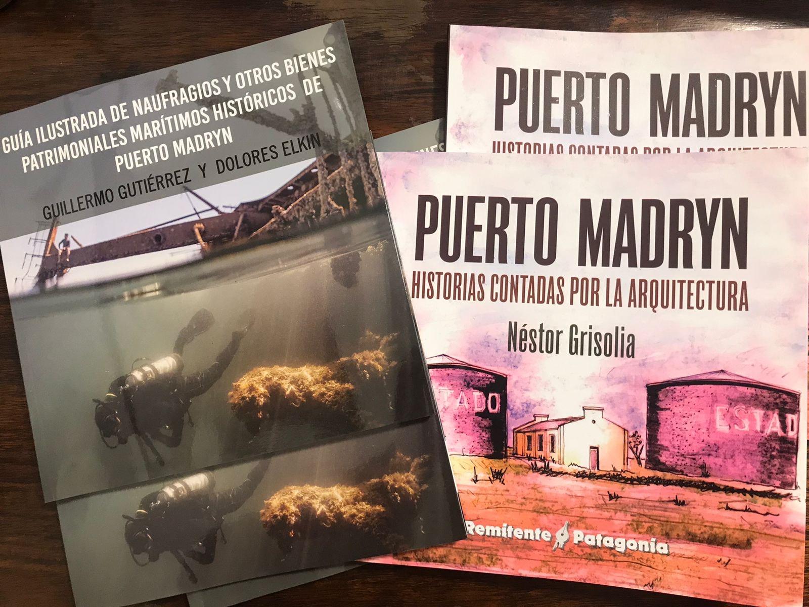 Puerto Madryn: Se presentaron dos libros vinculados al patrimonio de la ciudad