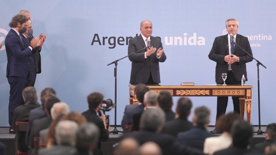 Asumió el nuevo gabinete de Alberto Fernández en busca de revertir el revés electoral de las PASO