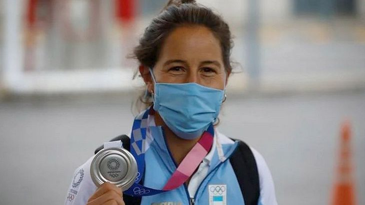 "Indignante: Le robaron la medalla olímpica a la ""leona"" Sofía Maccari"