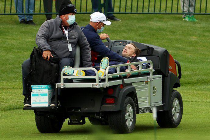 Estrella de Harry Potter colapsó en medio de un encuentro de golf solidario