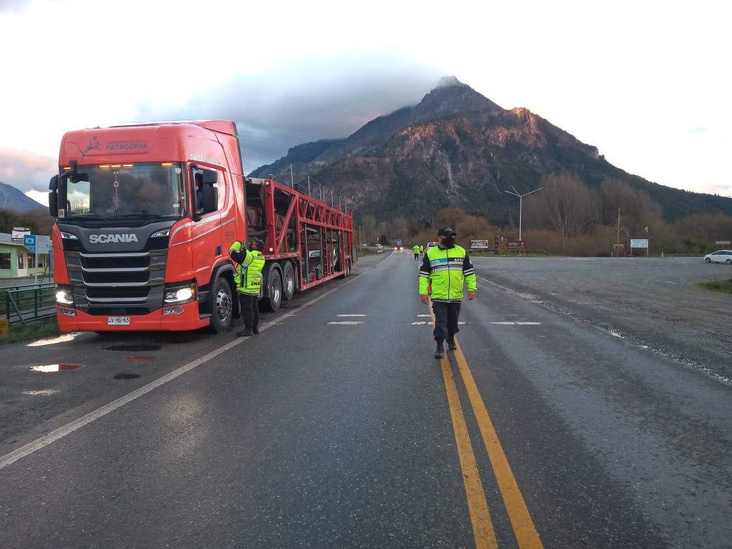 Chubut: Casi un centenar de conductores dieron positivo en los test de alcoholemia y narcolemia en diferentes operativos de control vehicular