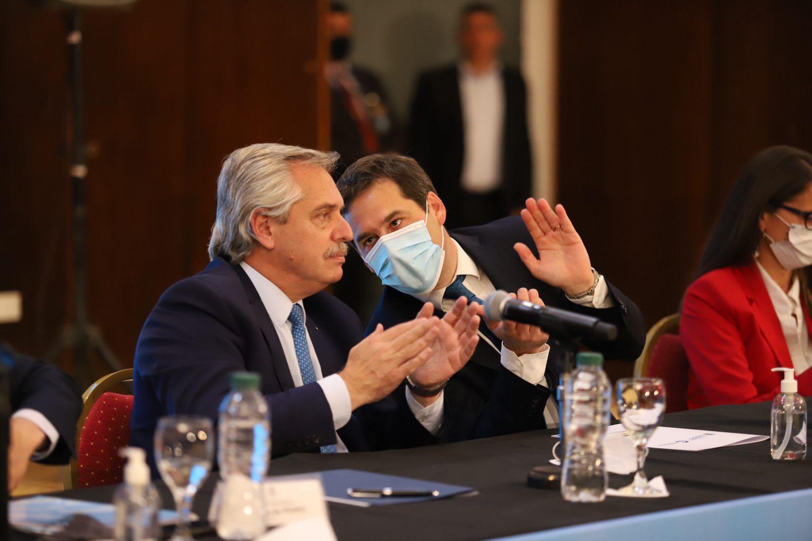 Alberto Fernández anunció importantes obras para Comodoro y la Provincia con un total que supera los $ 12.500 millones
