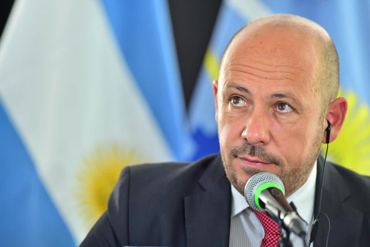 """Sastre: """"Es una satisfacción tener la visita del presidente Alberto Fernández"""""""