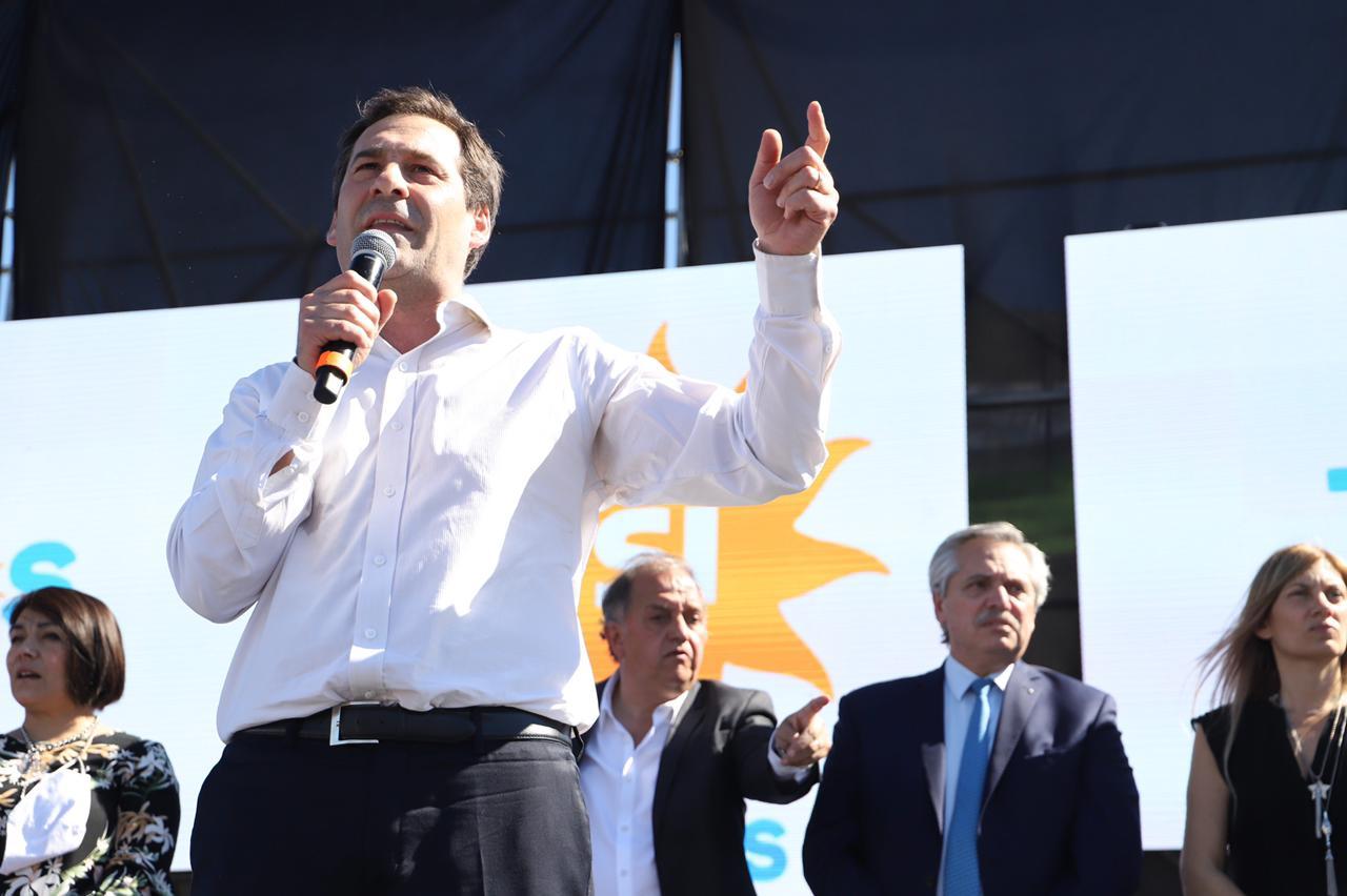 """Luque: """"Este gobierno está comprometido con el crecimiento de la Patagonia"""""""