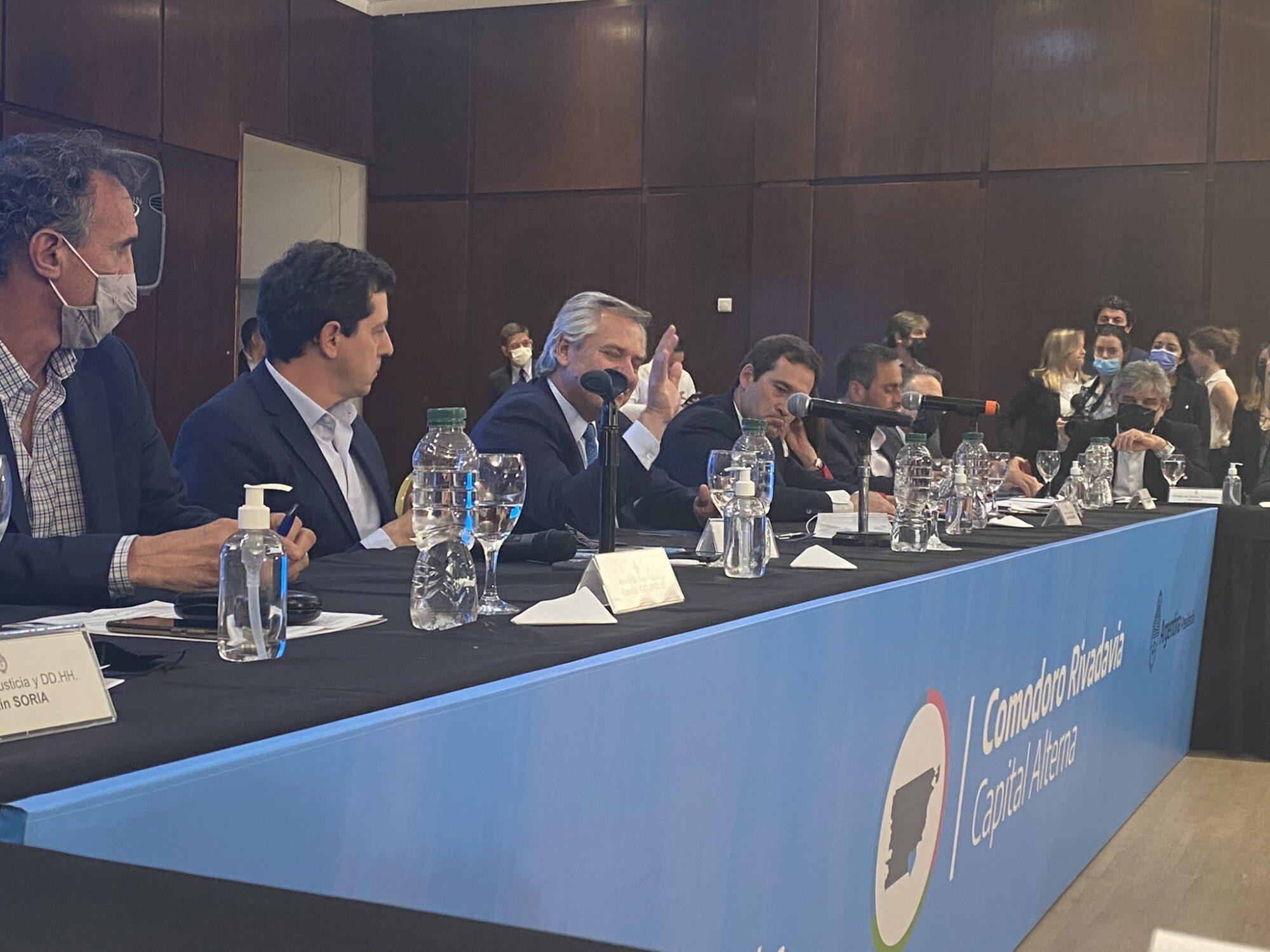 """Alberto Fernández en Comodoro: """"Le prometo a cada chubutense que en los próximos dos años vamos a hacer lo que nos comprometimos y que la pandemia lo impidió"""""""
