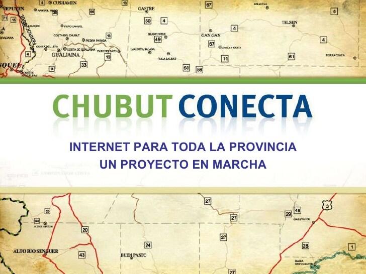 Chubut será la provincia más beneficiada con acceso a Internet tras la aprobación de un crédito del BID por u$s 100 millones